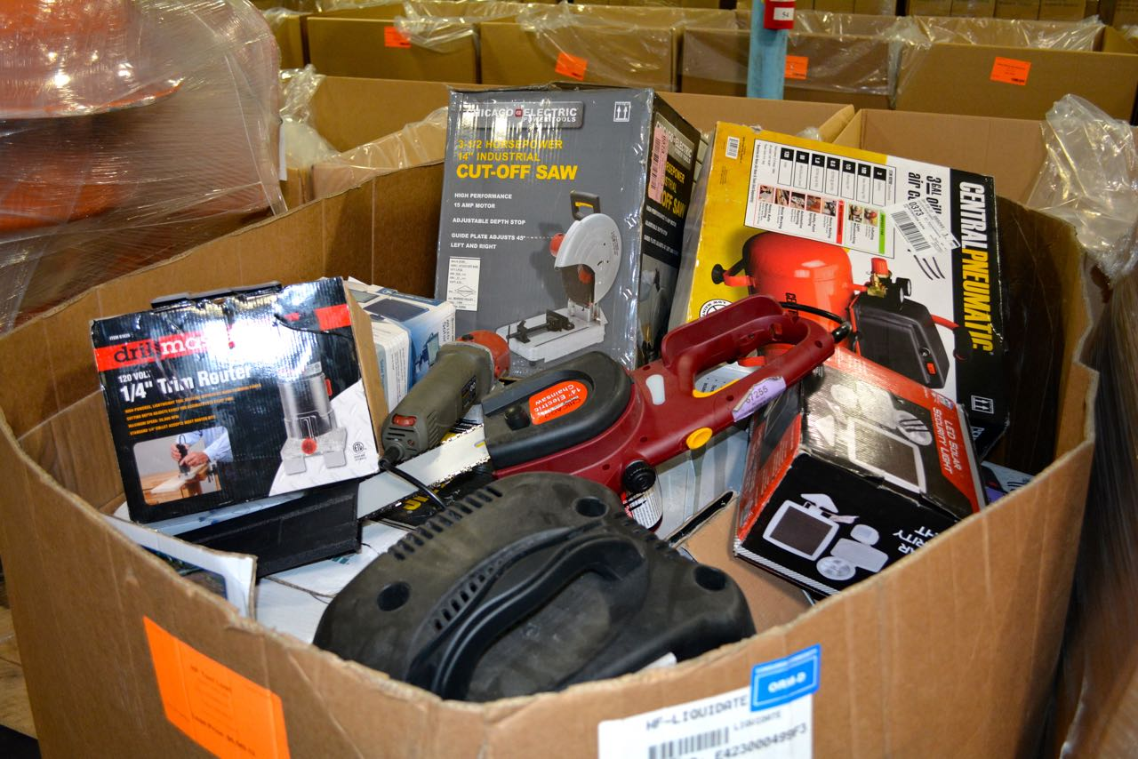 Harbor Freight Wholesale Surplus Tools Truckload