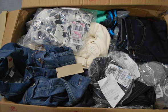 Brand New JC Penny MOS Wholesale Outlet Clothing Overstock