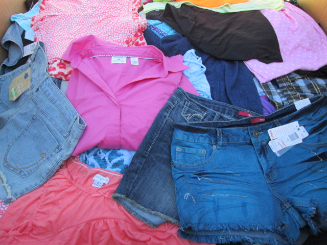 Assorted New Wholesale Clothing Pallets SRS /KMT