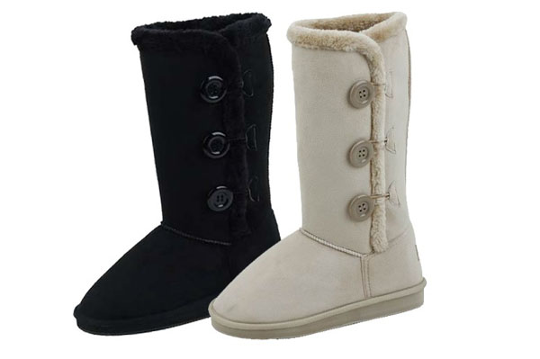 (36 pk) Wholesale UGG Style Ladies 3 Button Boots