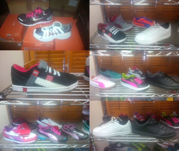 Brand New Wholesale Branded Children's Sneakers