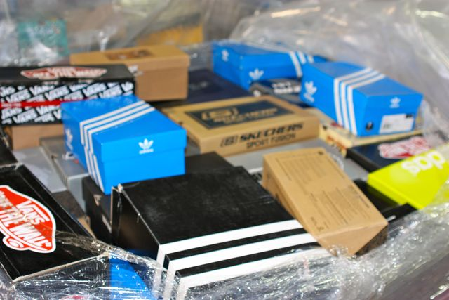Brand Name Sneaker Assortment