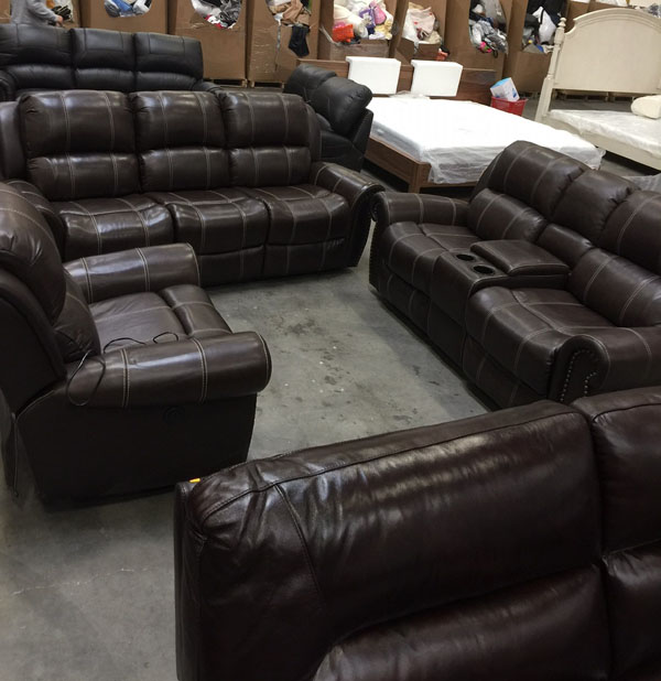 Overstock Higher End Wholesale Furniture Loads West Coast